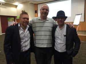 John, Richard & Gary